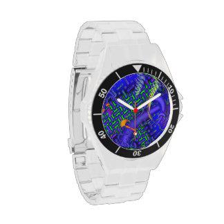 Tricky Bugger 3D Fractal Wrist Watch