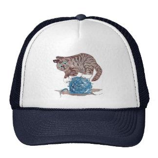 Tricky to Balance on a  Yarn Ball Cap