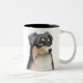 Tricolor Australian Shepherd Mug