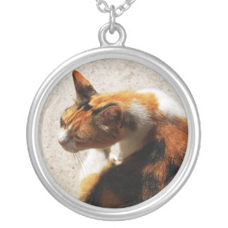 Tricolor Cat Necklace