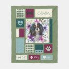 Tricolor Cavalier blanket | Medium