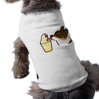 Tricolor Corgi Pineapple Dole Whip Dog Shirt