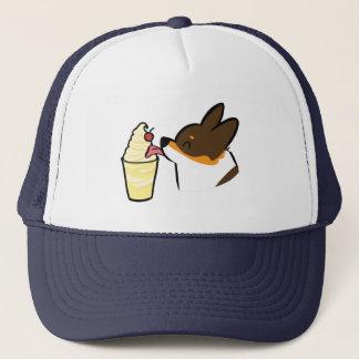 Tricolor Corgi Pineapple Dole Whip Hat