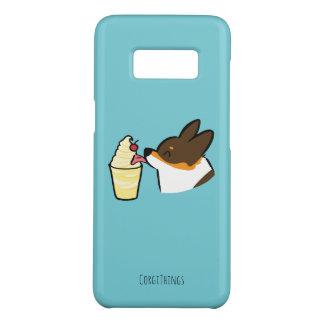 Tricolor Corgi Pineapple Dole Whip Samsung Case