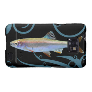 Tricolor Shiner with Stylized Waves Galaxy S5 Covers