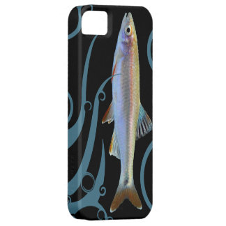 Tricolor Shiner with Stylized Waves iPhone 5 Cases
