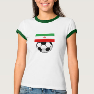 "Tricolor ""TEAM MELLI"" Tee Shirts"