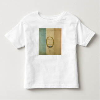 Tricolore with the motto 'Live Free or Die' Toddler T-Shirt