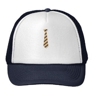 Tricolored Tie Trucker Hat