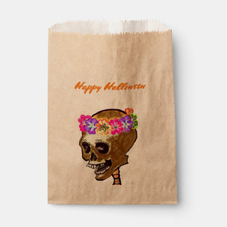 Trict or Treat Halloween Skeleton Favour Bags