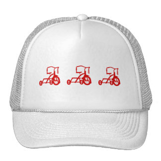 tricycles trucker hats