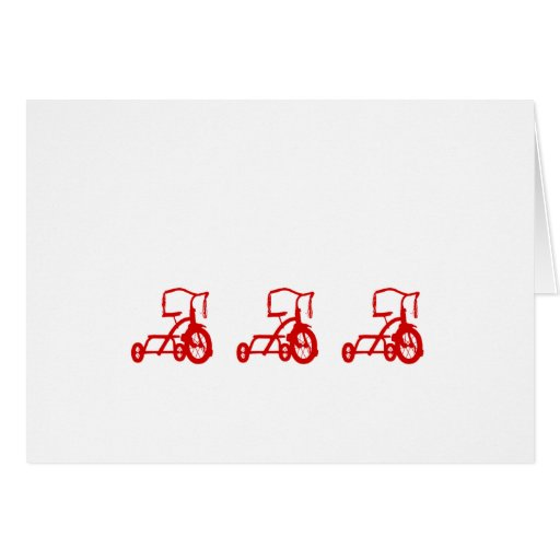 tricycles cards