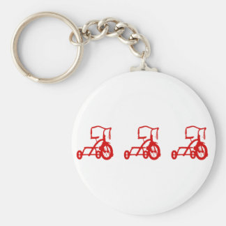 tricycles key chains