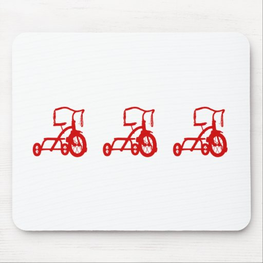 tricycles mouse mat
