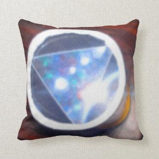Tridoscope Throw Pillow