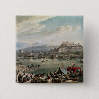 Trieste Harbour, 1802 15 Cm Square Badge