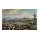 Trieste Harbour, 1802 Poster