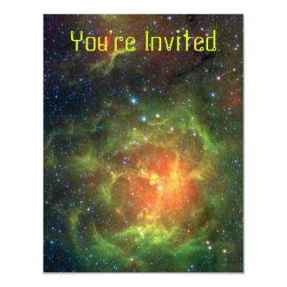 Trifid Nebula 11 Cm X 14 Cm Invitation Card