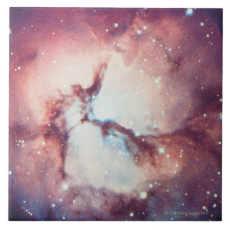Trifid Nebula Large Square Tile