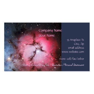 Trifid Nebula, Messier 16 - Pillars of Creation Double-Sided Standard Business Cards (Pack Of 100)