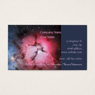Trifid Nebula, Messier 16 - Pillars of Creation Business Card