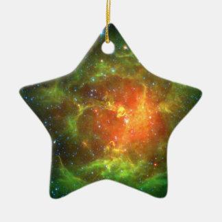 Trifid Nebula NASA Spitzer Christmas Tree Ornaments