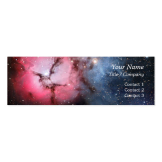 Trifid Nebula Space Astronomy Business Card Templates