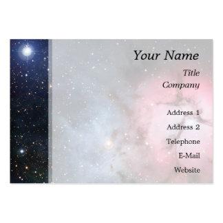 Trifid Nebula Space Astronomy Business Card