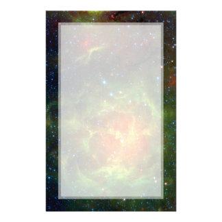 Trifid Nebula Space Spitzer Custom Flyer
