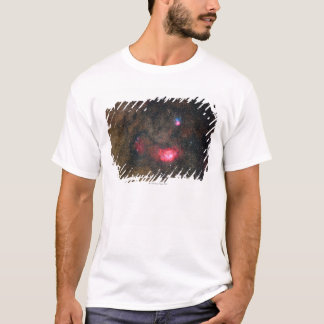Trifid Nebulae and Lagoon Nebula T-Shirt
