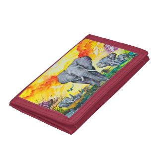 TriFold Nylon Wallet