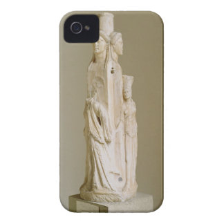 Triform Herm of Hecate, Marble sculpture, Attic pe iPhone 4 Case