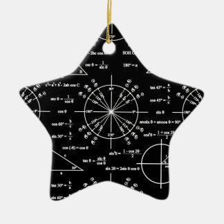 Trig & Triangles Christmas Ornament