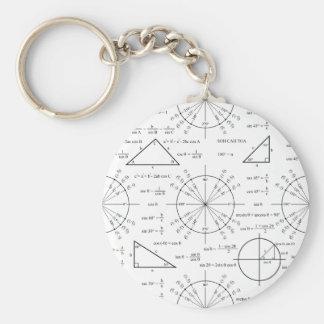 Trig & Triangles Key Ring