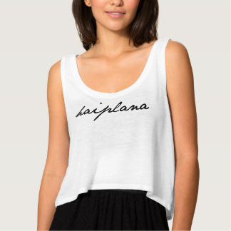 Trigedasleng t-shirt: Haiplana (queen) Tank Top