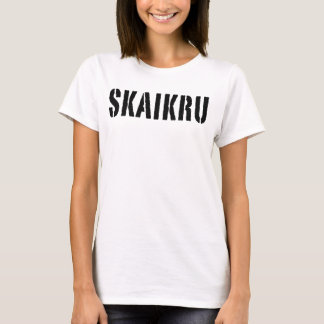Trigedasleng t-shirt: Skaikru (sky people) T-Shirt