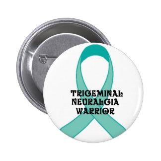 Trigeminal Neuralgia Awareness 6 Cm Round Badge