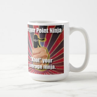 "Trigger Point Ninja ® ""Knot"" Your Average Ninja Coffee Mug"