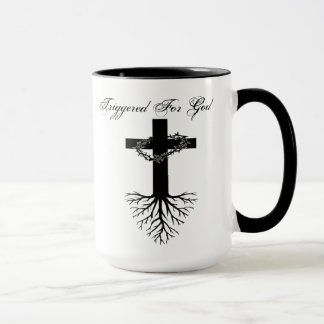 Triggered For God Mug
