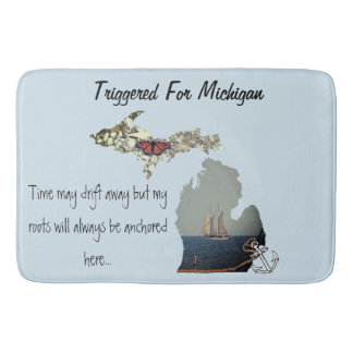Triggered For Michigan Bath Mat