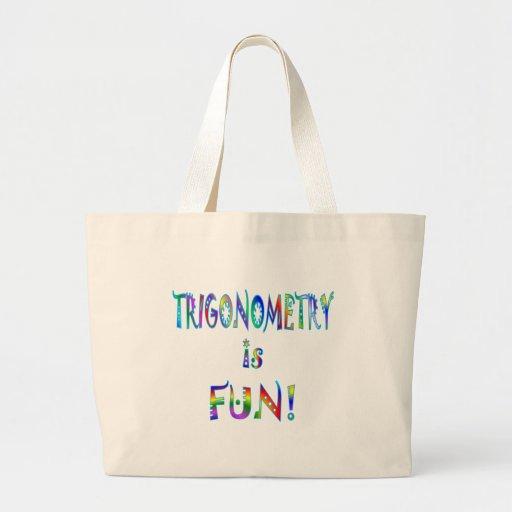 Trigonometry is Fun Canvas Bags