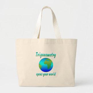 Trigonometry Opens Worlds Canvas Bag
