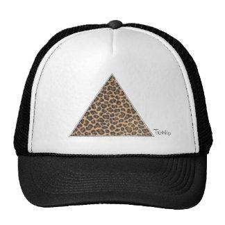 TriHip Cheetah Triangle Trucker Hat