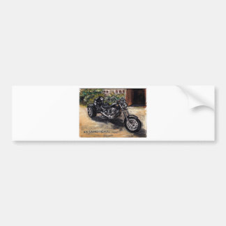 Trike motorcycle bumper sticker