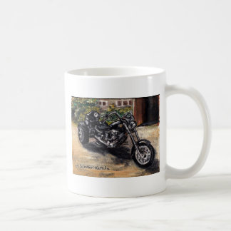 Trike motorcycle coffee mug