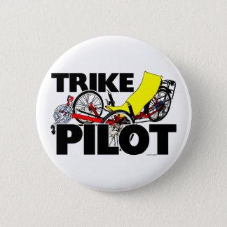 Trike Pilot 6 Cm Round Badge
