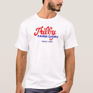 Trilby Farm Dairy Toledo Ohio logo T-Shirt