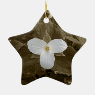 Trillium Christmas Ornament