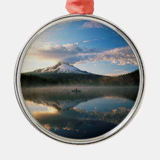 Trillium Lake | Mount Hood National Forest, OR Christmas Ornament
