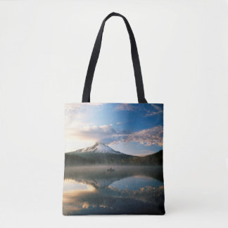Trillium Lake   Mount Hood National Forest, OR Tote Bag